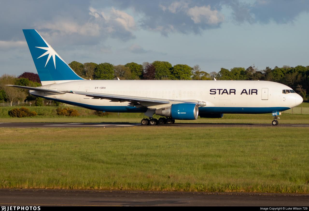 OY-SRH - Boeing 767-204(ER)(BDSF) - Star Air