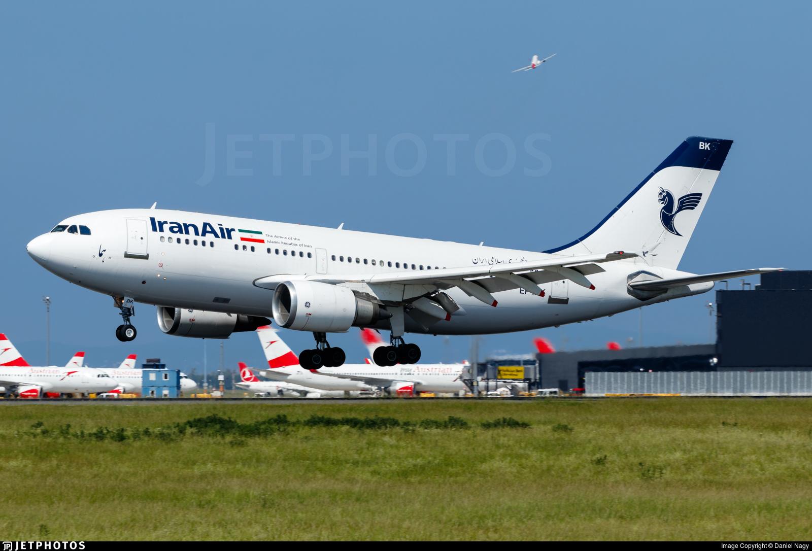 EP-IBK - Airbus A310-304 - Iran Air