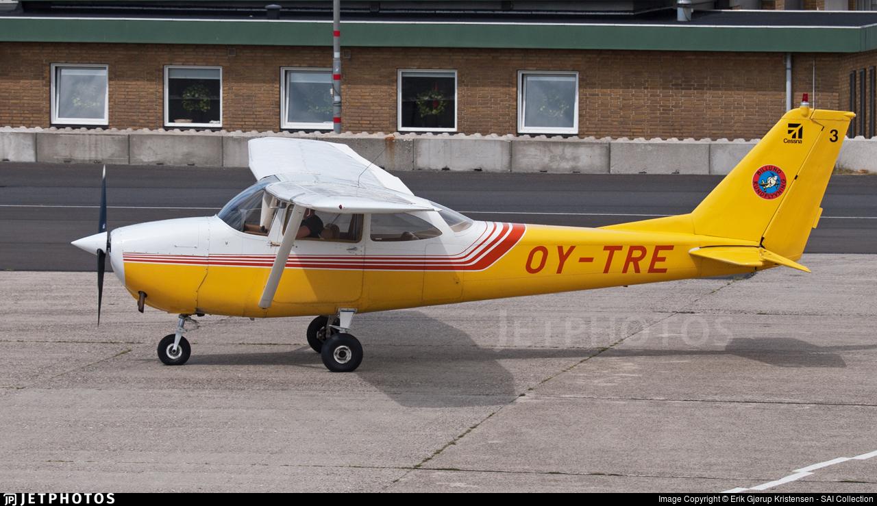 OY-TRE - Reims-Cessna F172E Skyhawk - Billund Rundflyvning