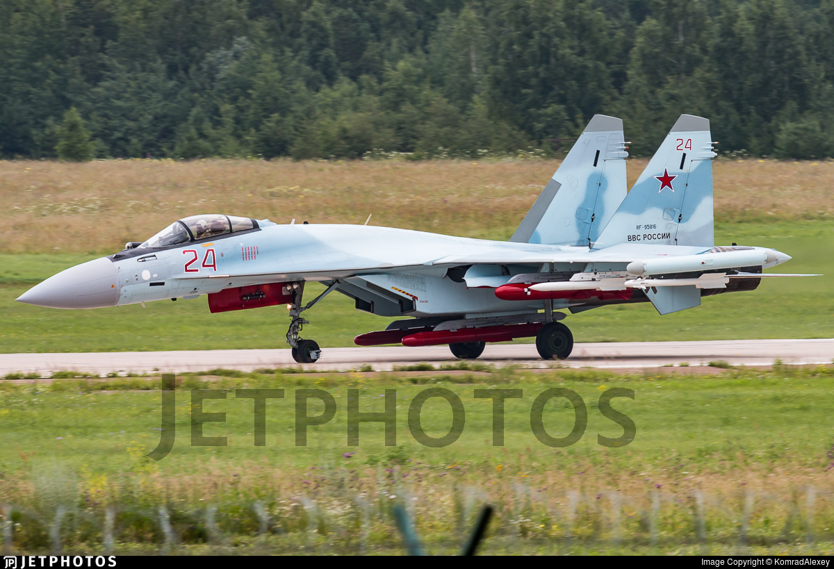 RF-95816 - Sukhoi Su-35S - Russia - Air Force