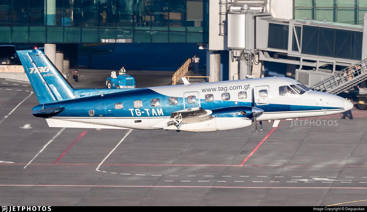 TG-TAM - Embraer EMB-110P1 Bandeirante - TAG Airlines - Transportes Aéreos Guatemaltecos