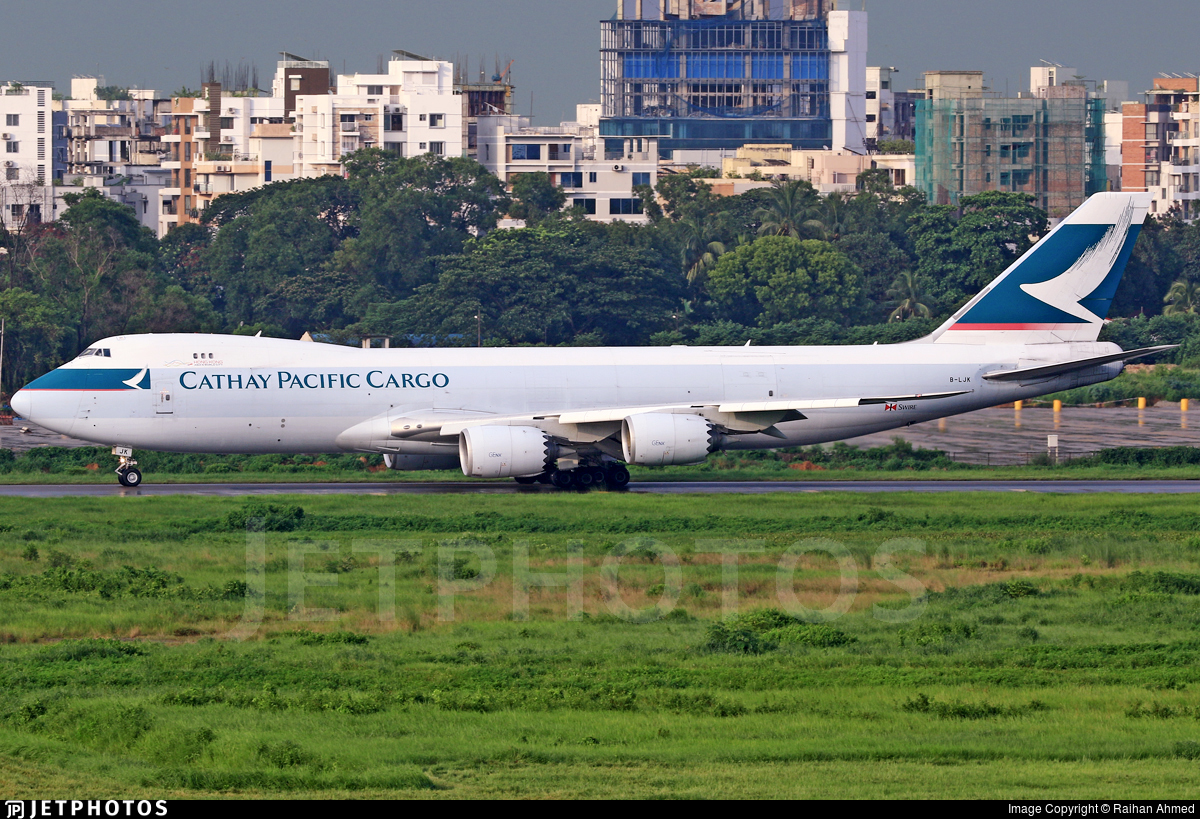 B-LJK - Boeing 747-867F - Cathay Pacific Cargo