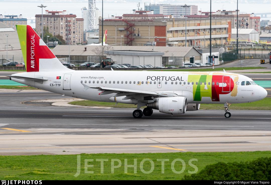 CS-TTF - Airbus A318-111 - TAP Air Portugal