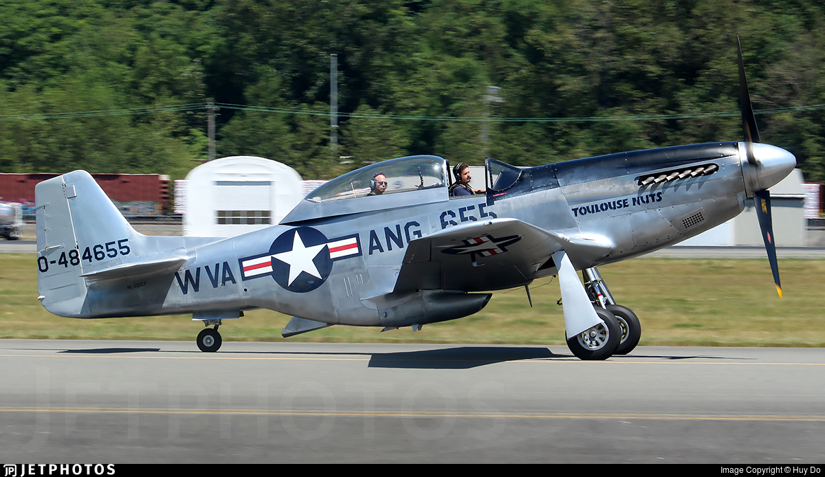 NL551CF - North American TF-51D Mustang - Private