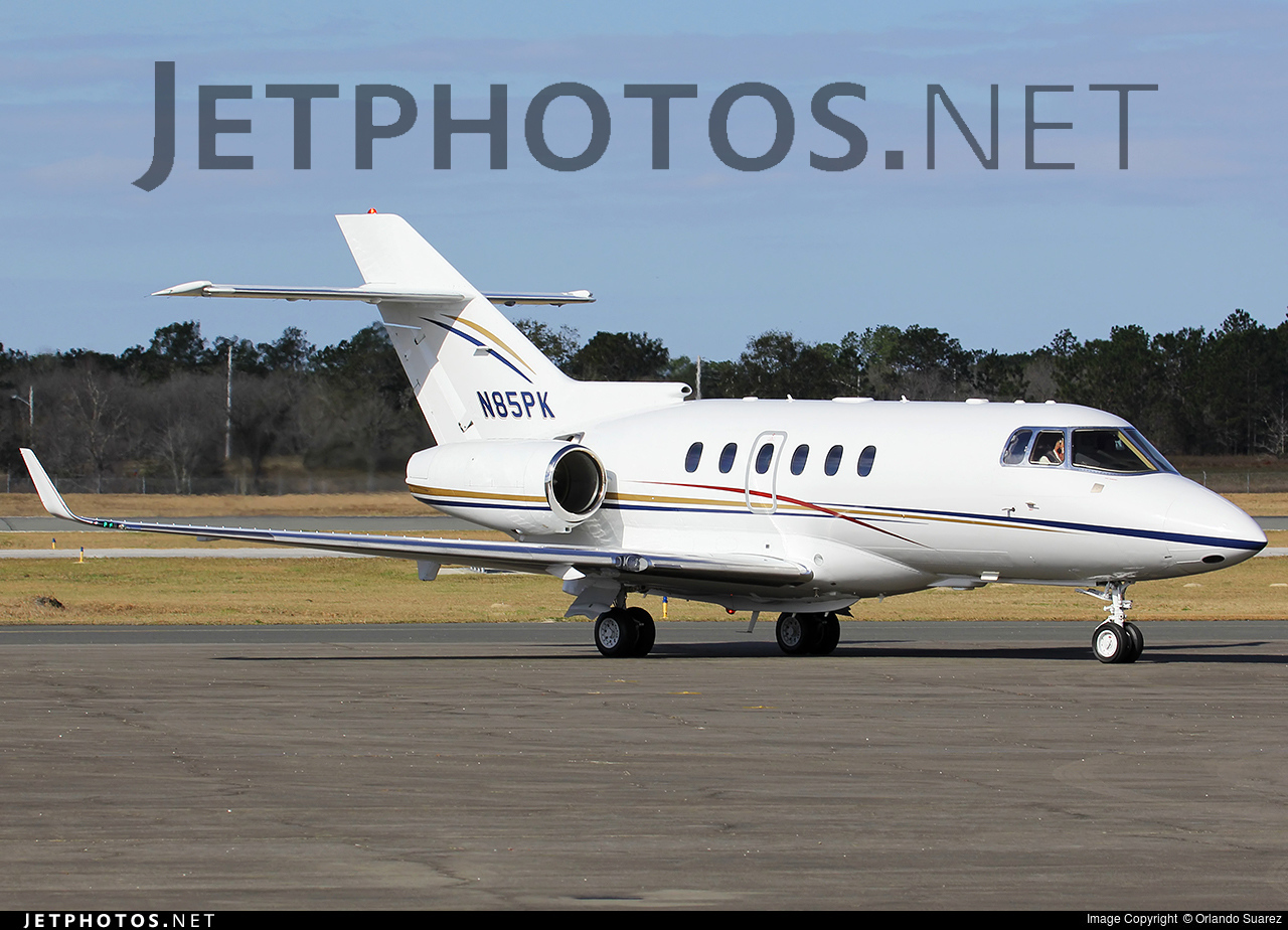 N85PK - Raytheon Hawker 800XP - Private