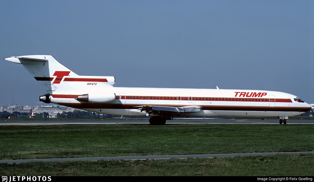 N914TS - Boeing 727-254 - Trump Shuttle