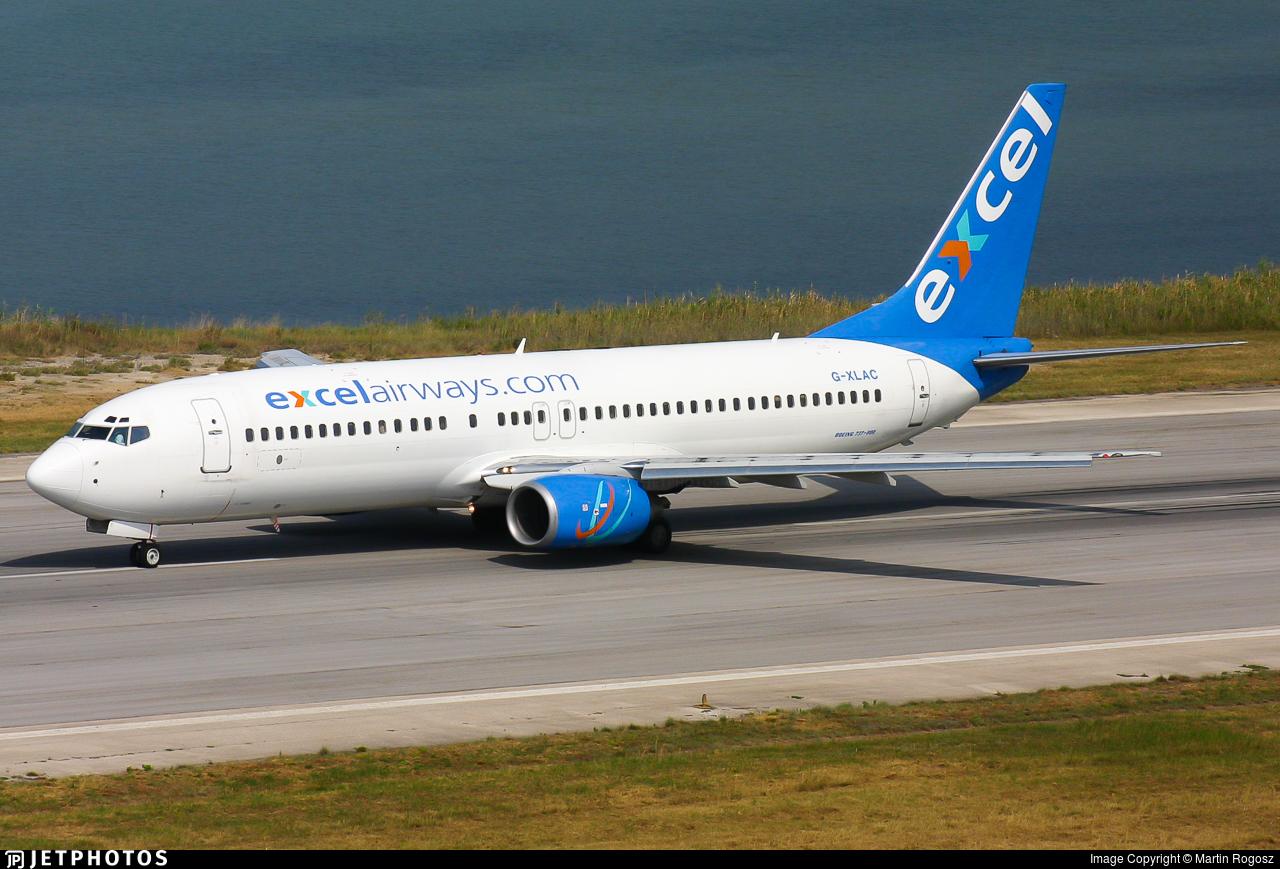G-XLAC - Boeing 737-81Q - Excel Airways