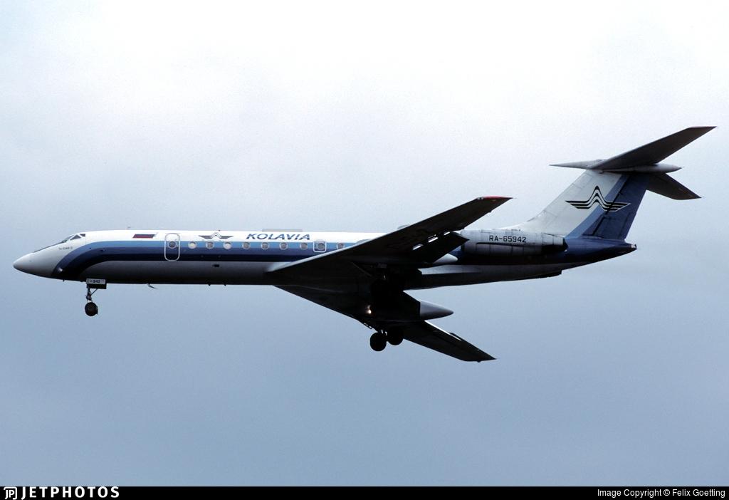 RA-65942 - Tupolev Tu-134A-3 - Kolavia