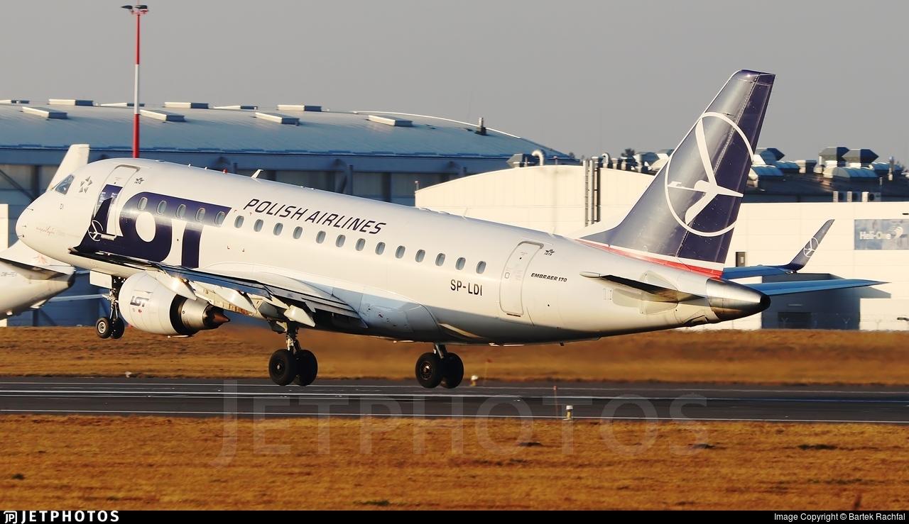 SP-LDI - Embraer 170-100LR - LOT Polish Airlines