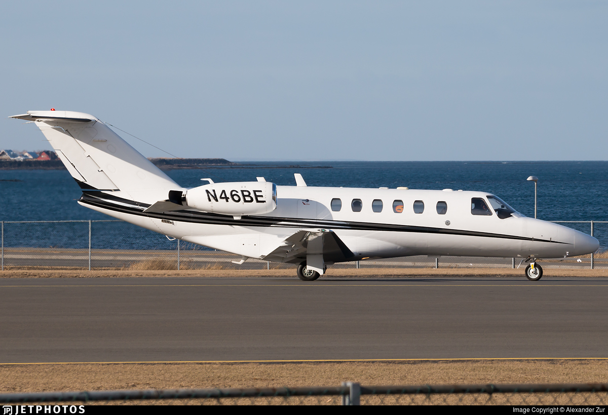 N46BE - Cessna 525A CitationJet 2 - Private