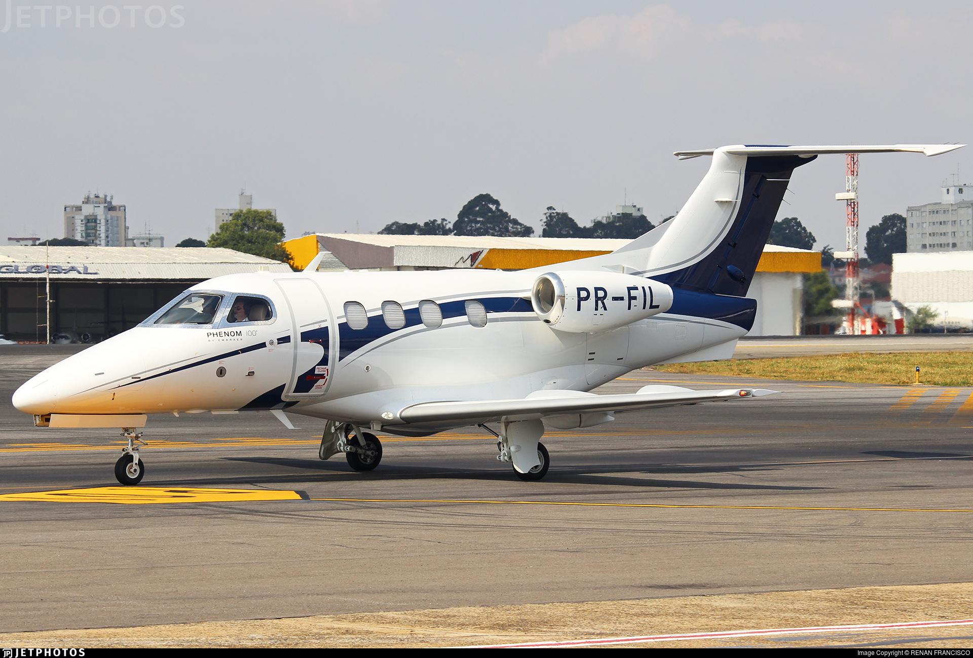 PR-FIL - Embraer 500 Phenom 100 - Private