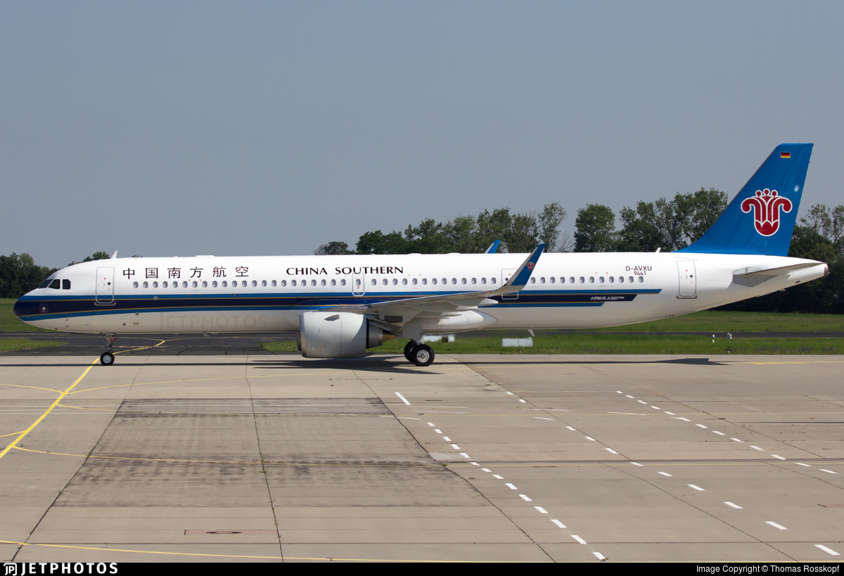 D-AVXU - Airbus A321-253NX - China Southern Airlines