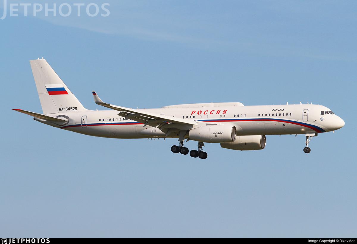RA-64526 - Tupolev Tu-214SR - Rossiya - Special Flight Squadron