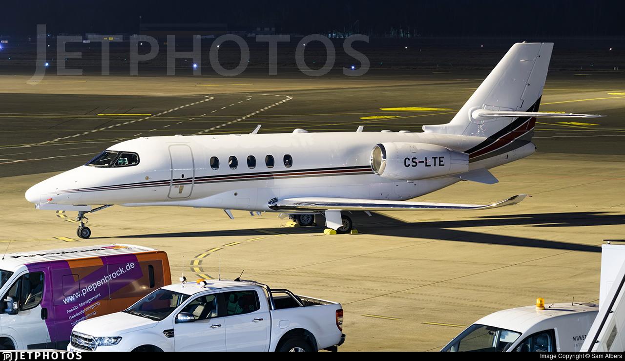 CS-LTE - Cessna Citation Latitude - NetJets Europe