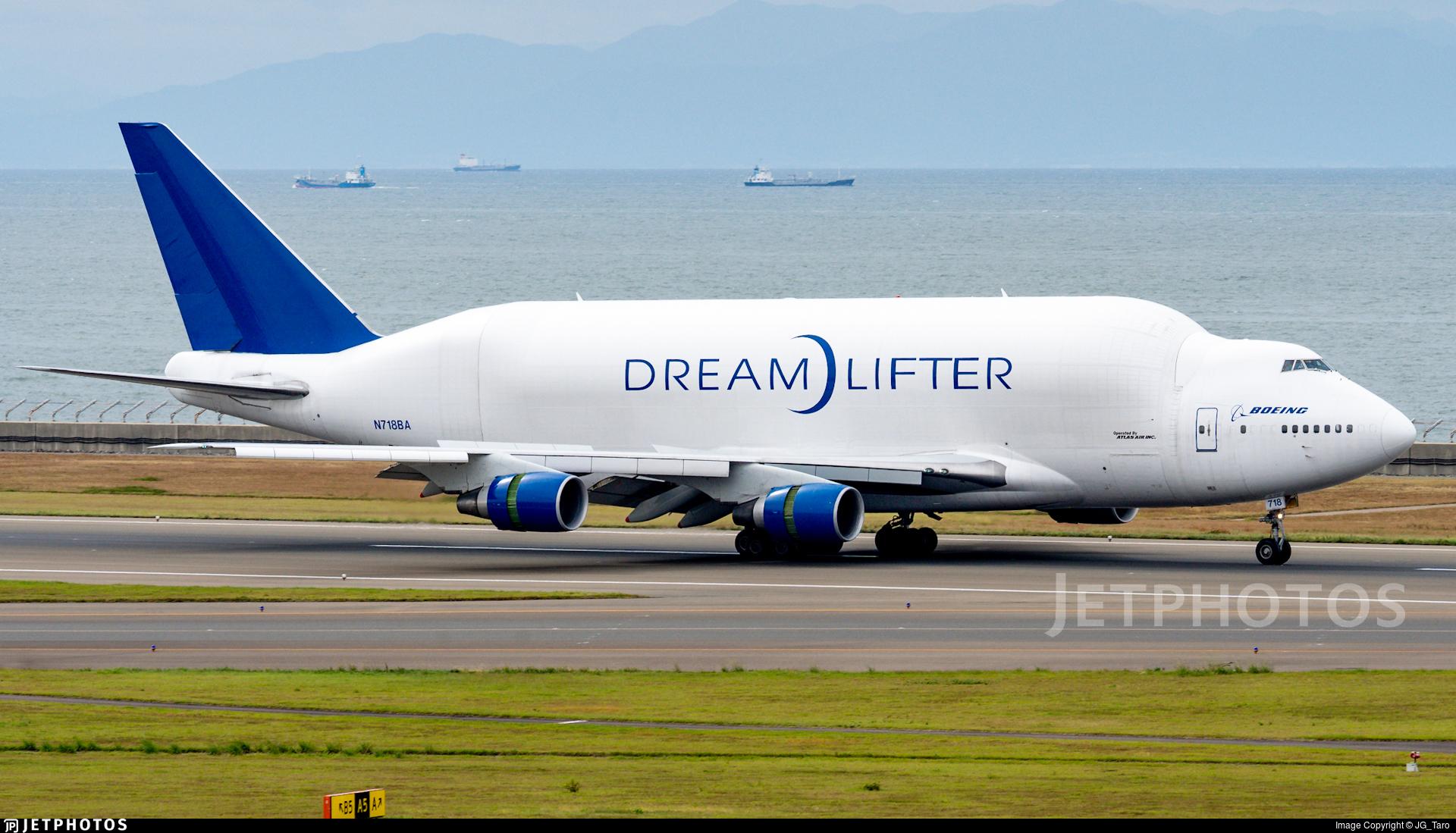 N718BA - Boeing 747-4H6(LCF) - Boeing Company