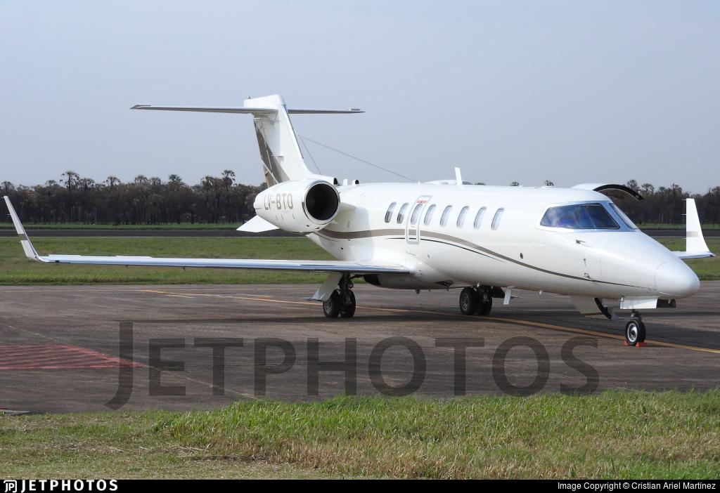 LV-BTO - Bombardier Learjet 45 - Private