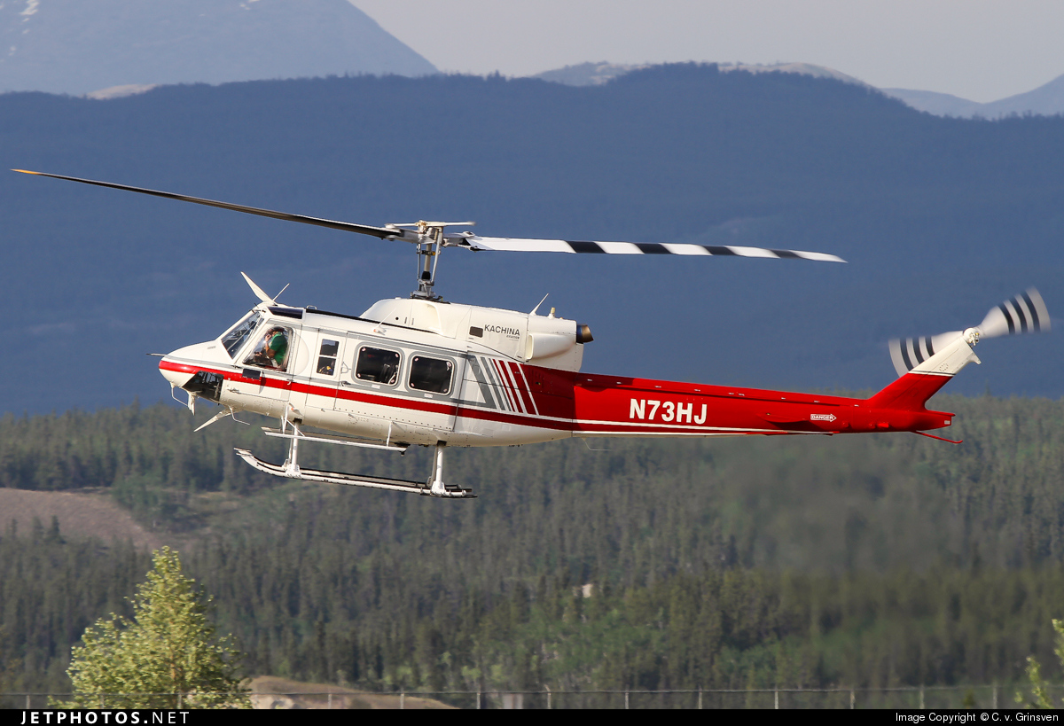 N73HJ - Bell 212 - Private