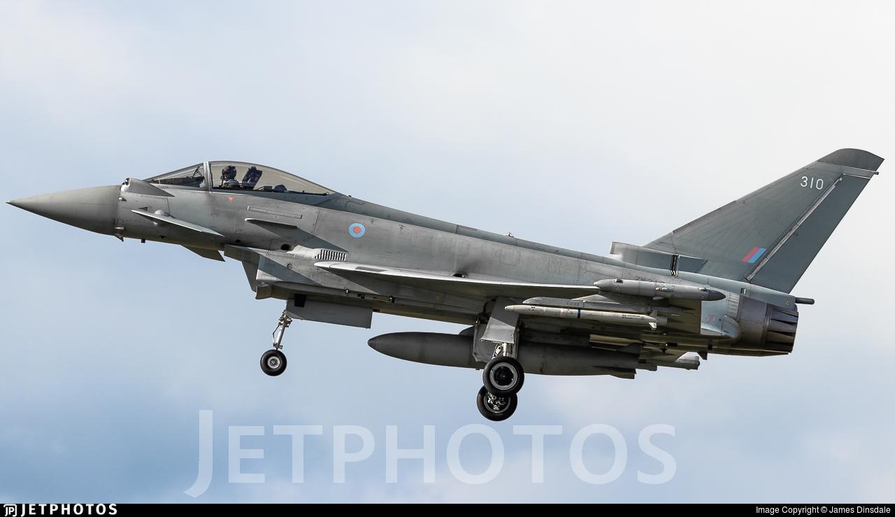 ZK310 - Eurofighter Typhoon FGR.4 - United Kingdom - Royal Air Force (RAF)