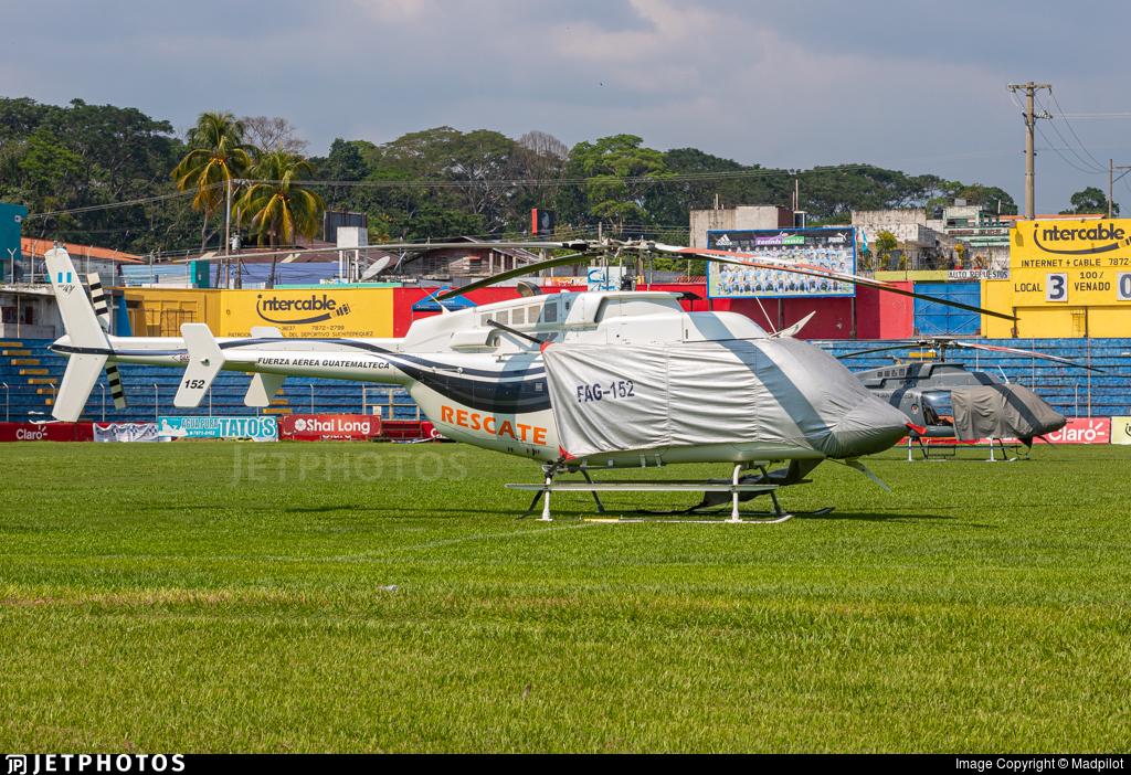 152 - Bell 407 - Guatemala - Air Force