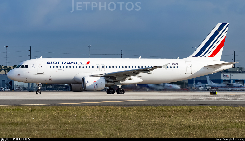 F-GKXU - Airbus A320-214 - Air France