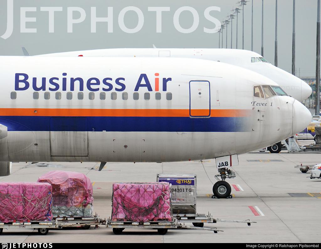 HS-JAB - Boeing 767-222 - Business Air