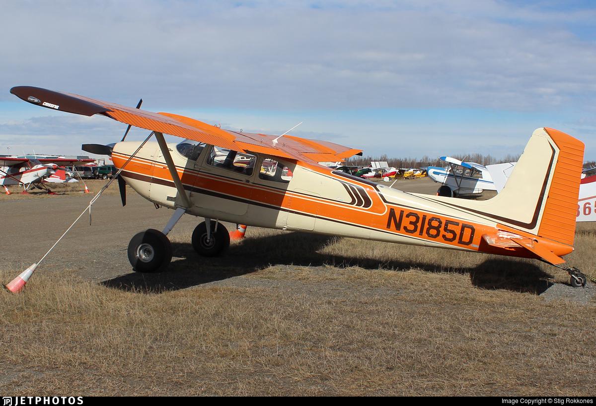 N3185D - Cessna 180 Skywagon - Private
