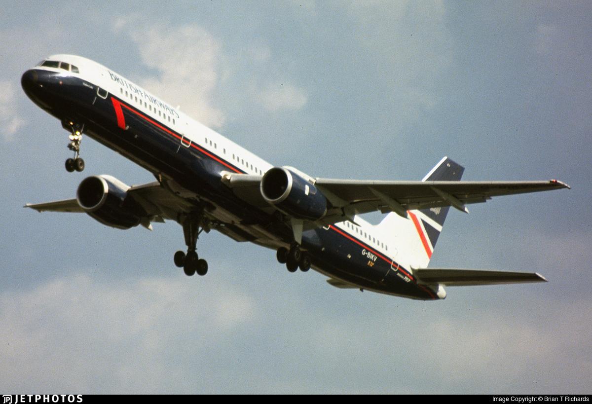 G-BIKV - Boeing 757-236 - British Airways