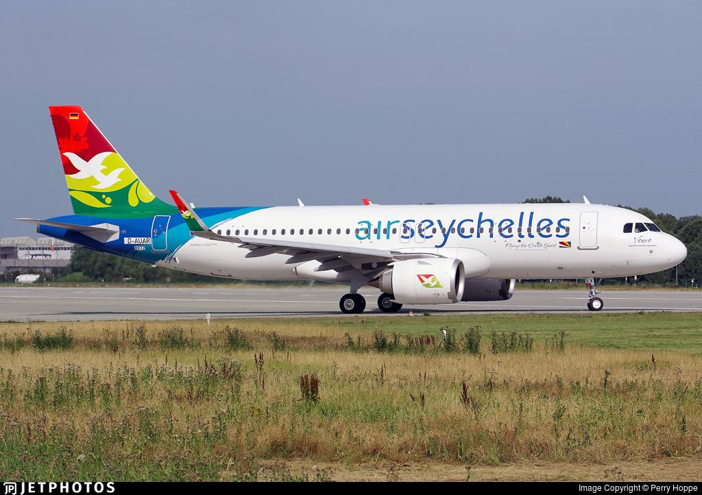 D-AUAR - Airbus A320-251N - Air Seychelles