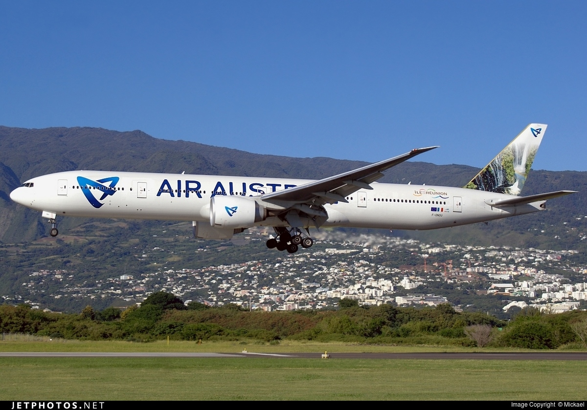 F-ONOU - Boeing 777-3Q8ER - Air Austral