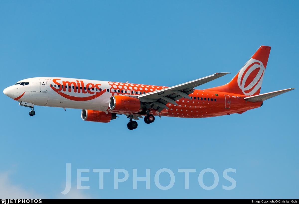 PR-GIT - Boeing 737-809 - GOL Linhas Aéreas
