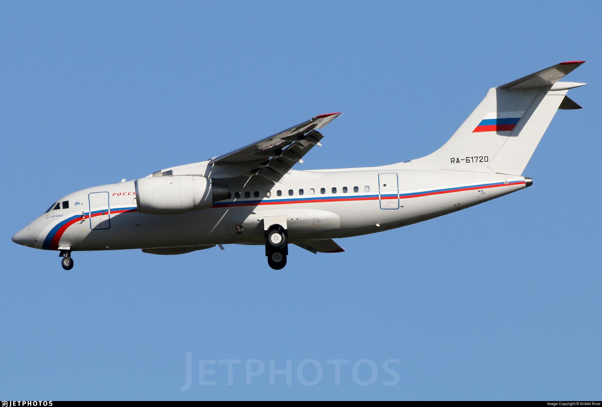 RA-61720 - Antonov An-148-100E - Rossiya - Special Flight Squadron