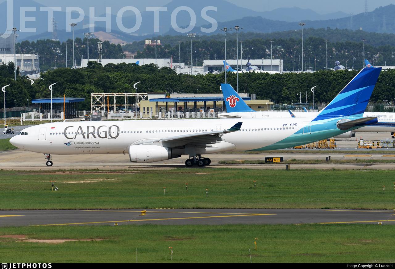 PK-GPD - Airbus A330-341 - Garuda Indonesia