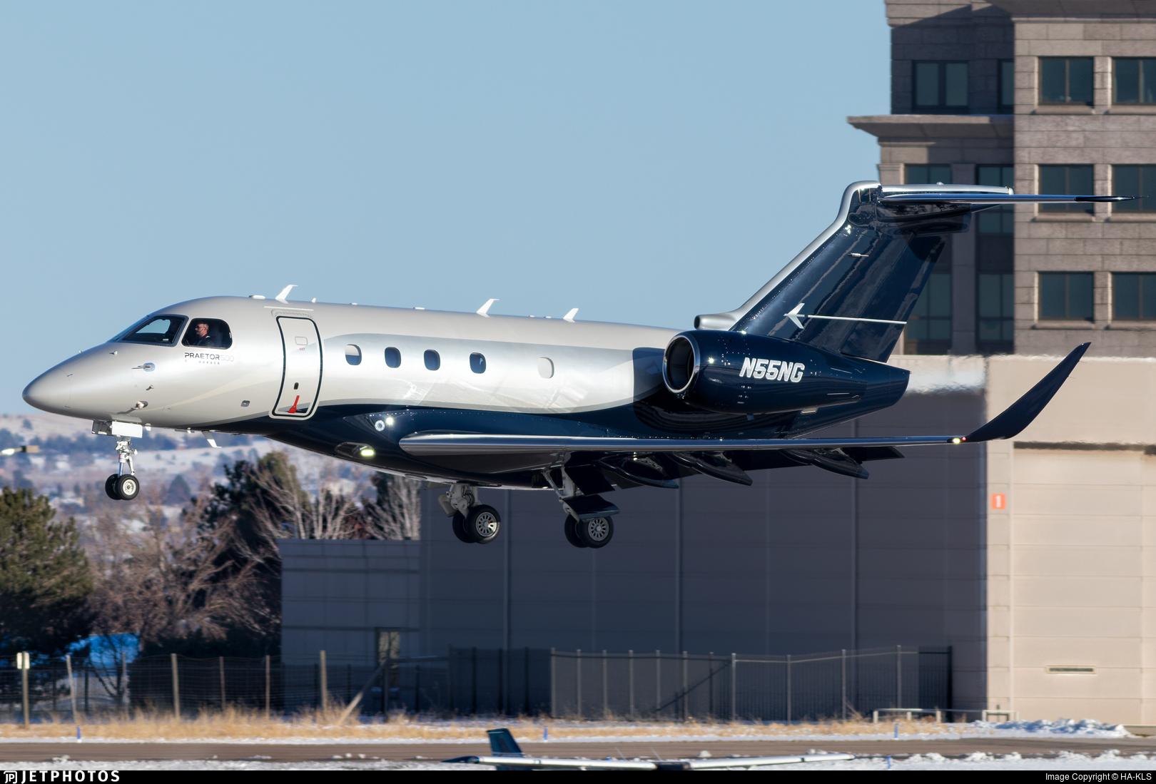 N55NG - Embraer EMB-545 Praetor 500 - Private