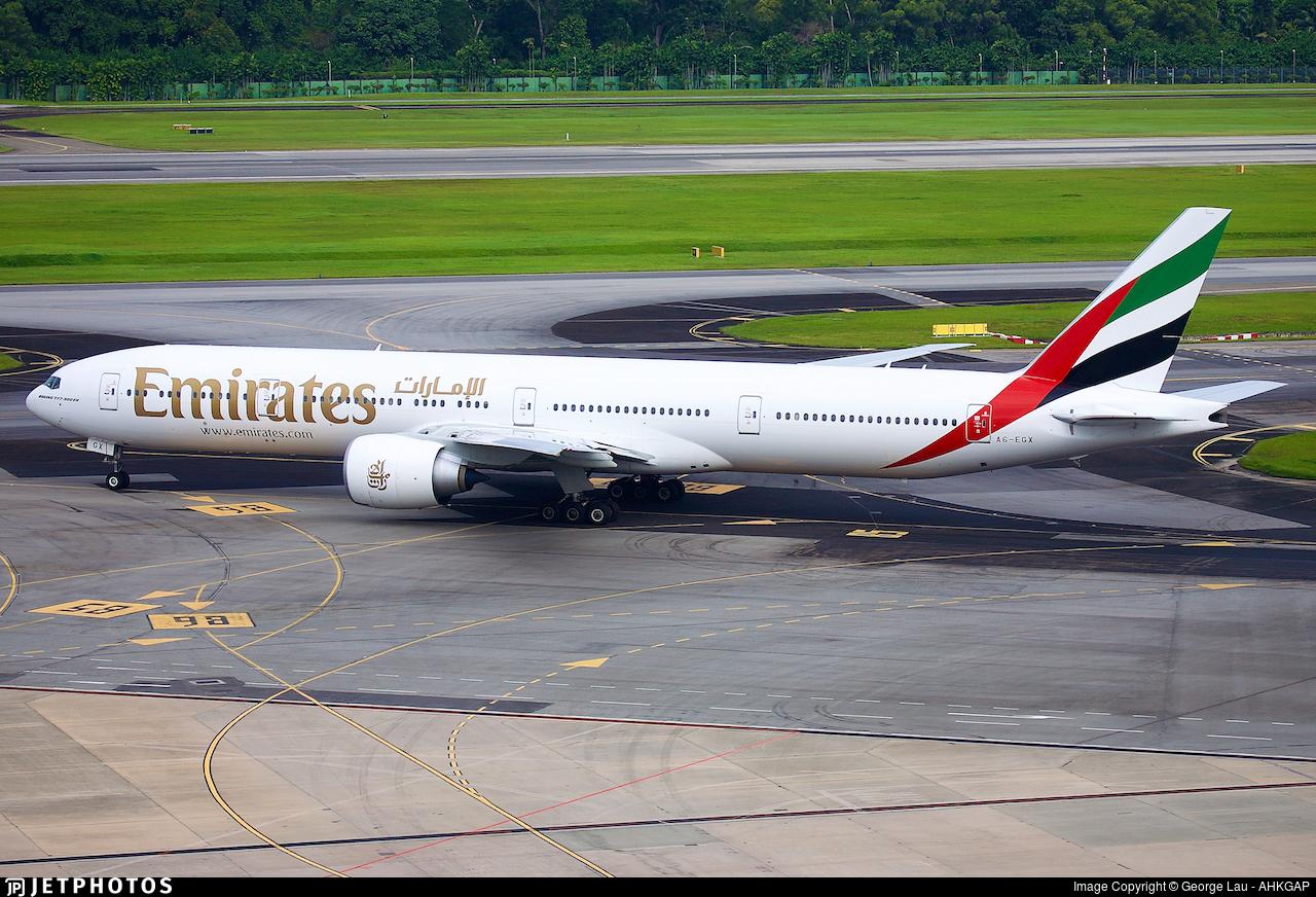 A6-EGX - Boeing 777-31HER - Emirates