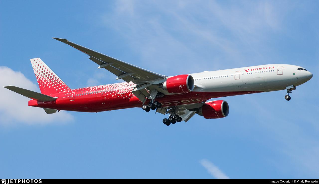EI-GES - Boeing 777-31HER - Rossiya Airlines