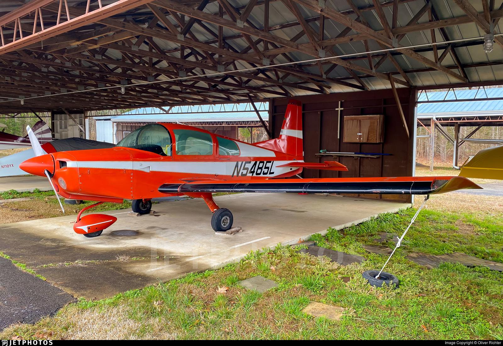 N5485L - Grumman American AA-5 Traveller - Private