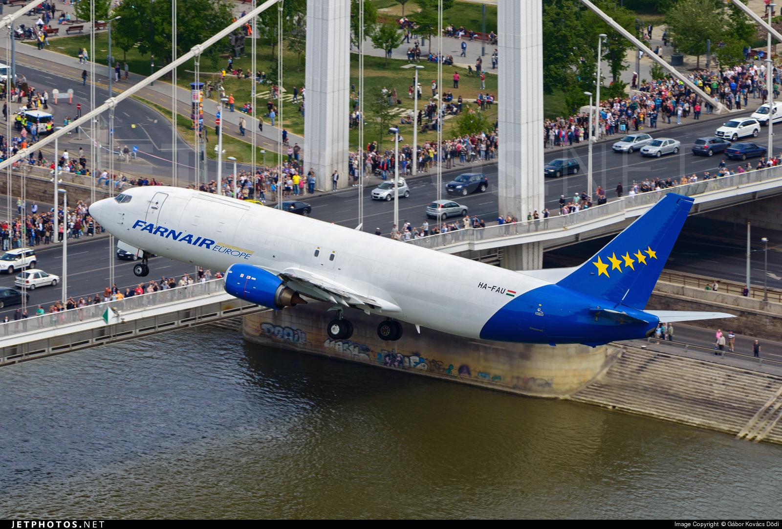 HA-FAU - Boeing 737-43Q(SF) - Farnair Hungary