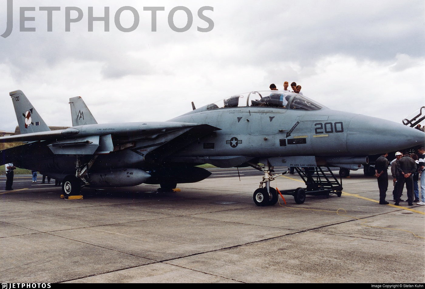 162921 - Grumman F-14B Tomcat - United States - US Navy (USN)