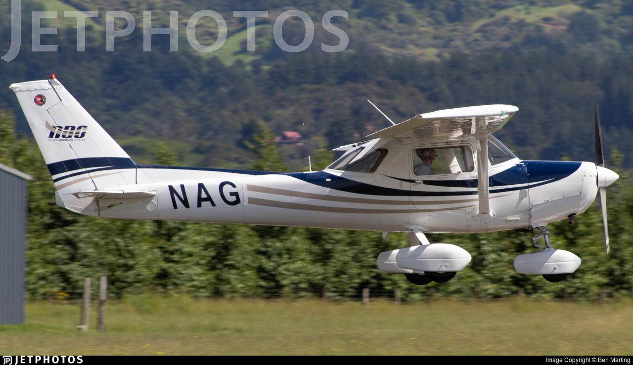 ZK-NAG - Cessna A152 Aerobat - Nelson Aviation College