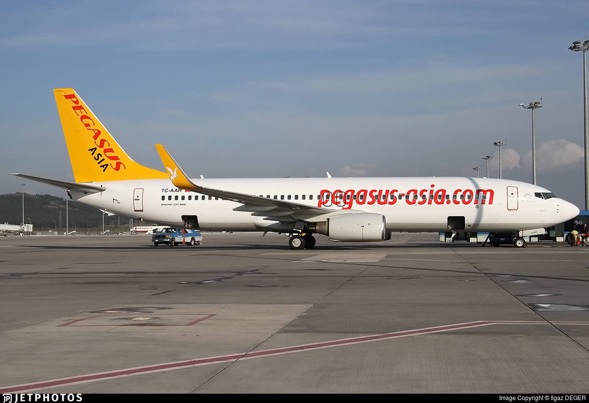 TC-AAR - Boeing 737-86N - Pegasus Airlines Asia