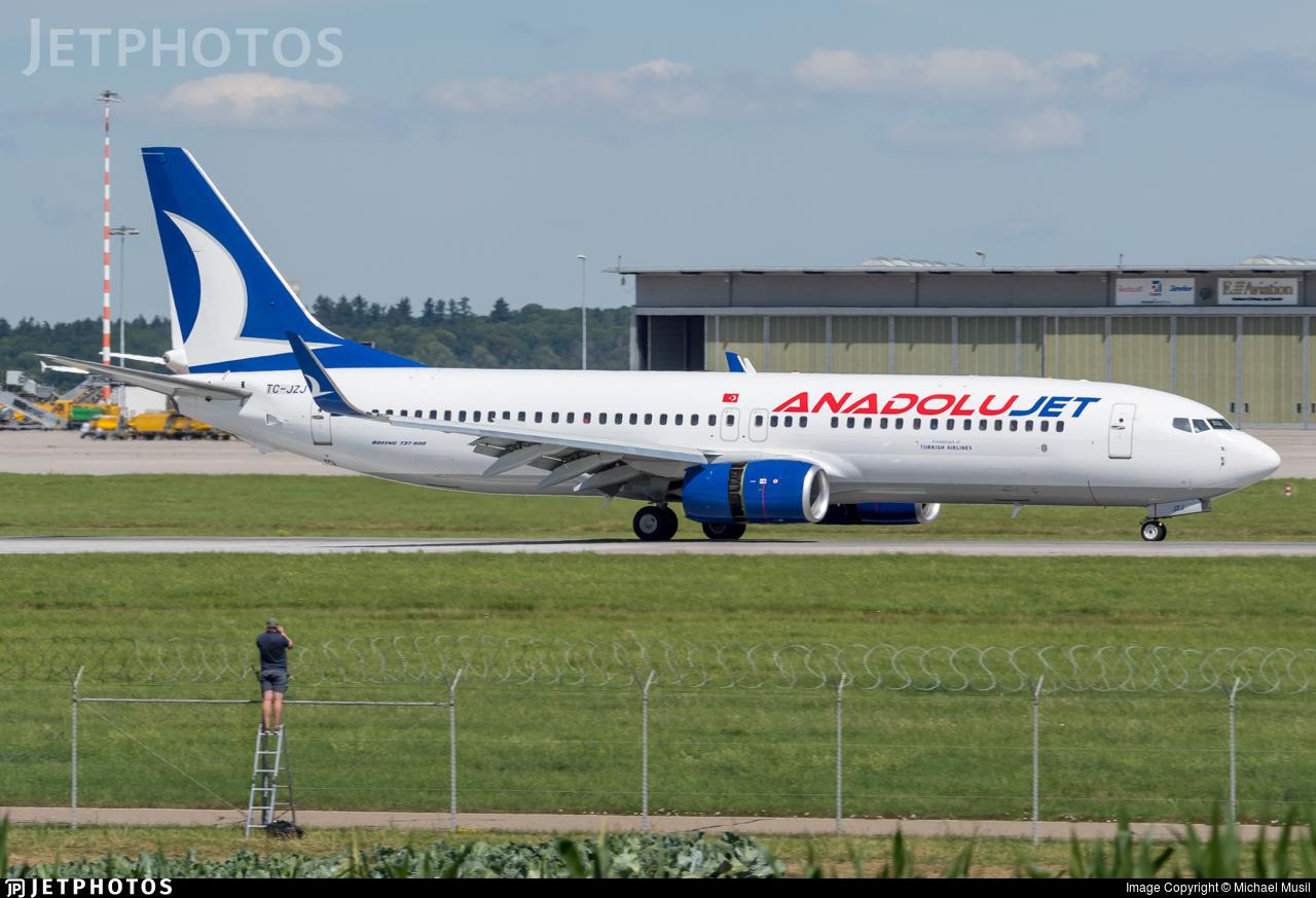 TC-JZJ - Boeing 737-8AS - AnadoluJet