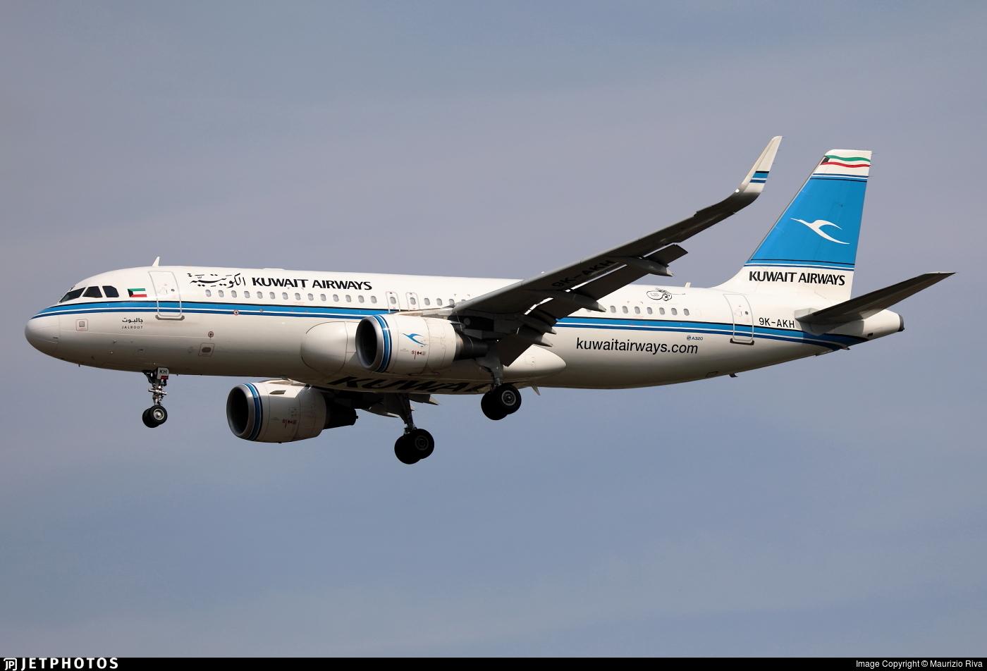 9K-AKH - Airbus A320-214 - Kuwait Airways