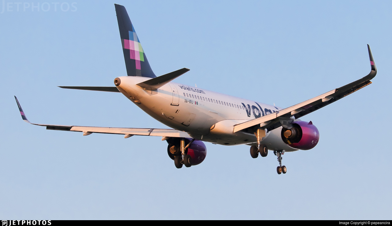 XA-VRJ - Airbus A320-271N - Volaris