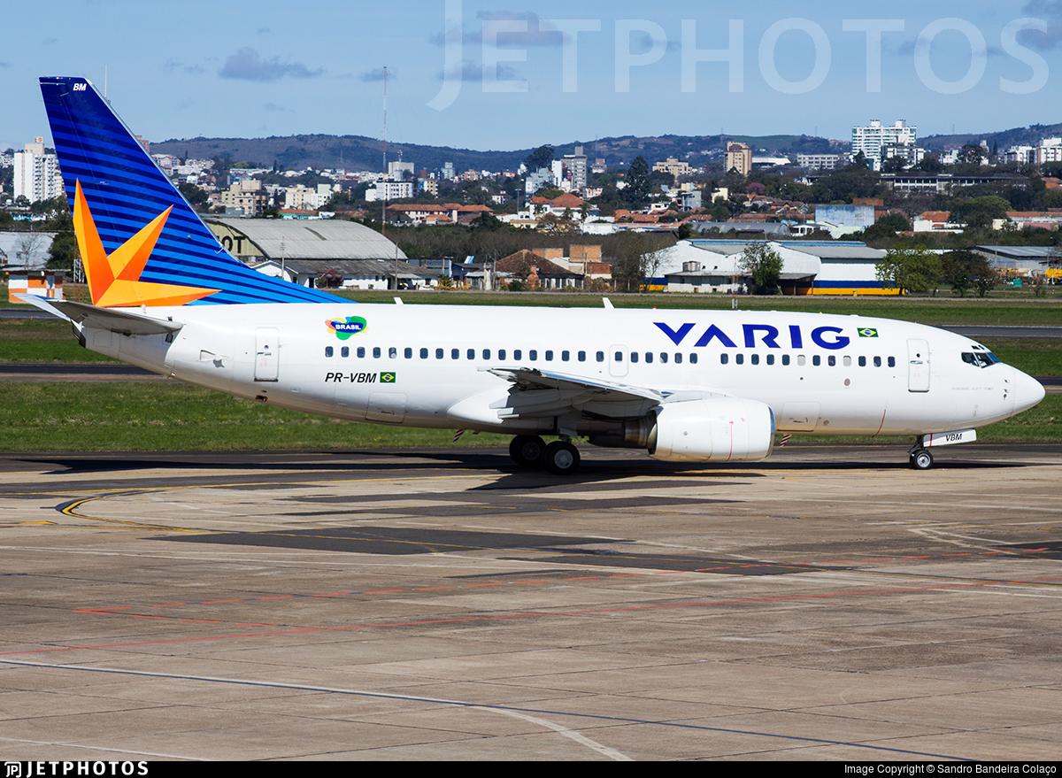 PR-VBM - Boeing 737-7EA - Varig