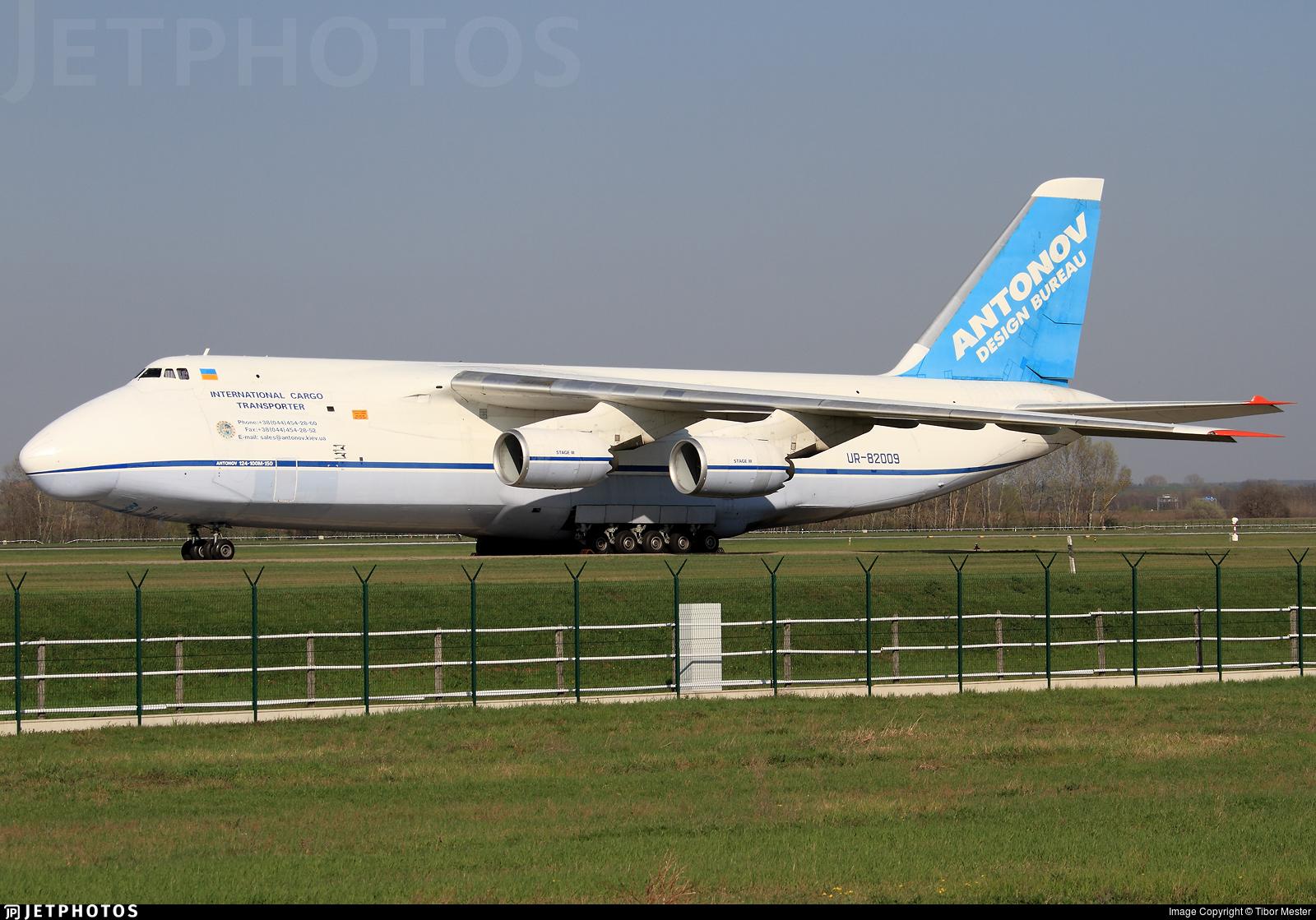 UR-82009 - Antonov An-124-100M Ruslan - Antonov Airlines
