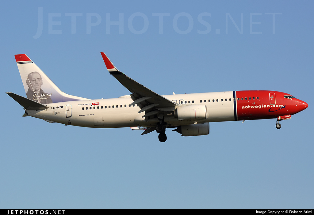 LN-NGF - Boeing 737-8JP - Norwegian