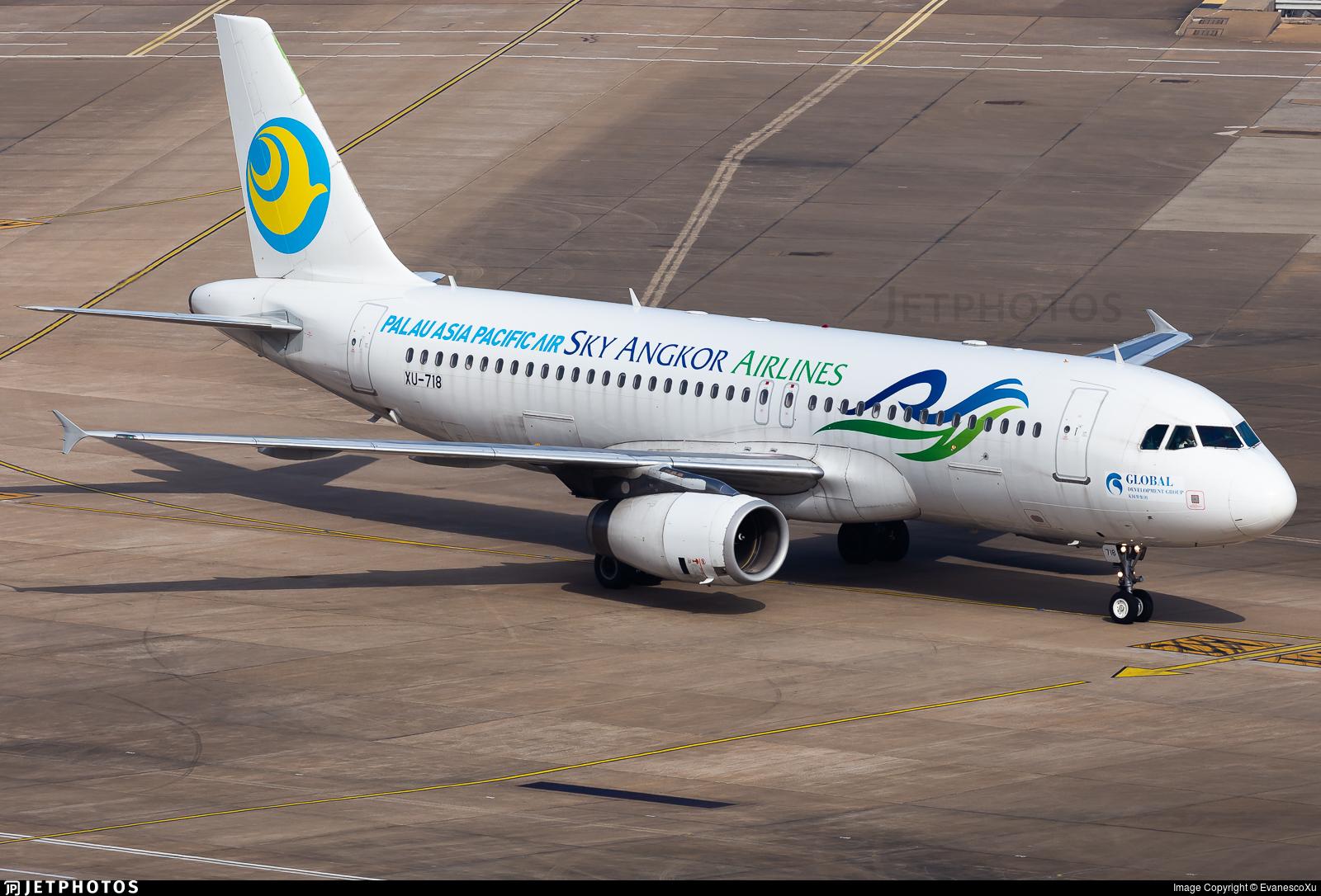 XU-718 - Airbus A320-232 - Sky Angkor Airlines
