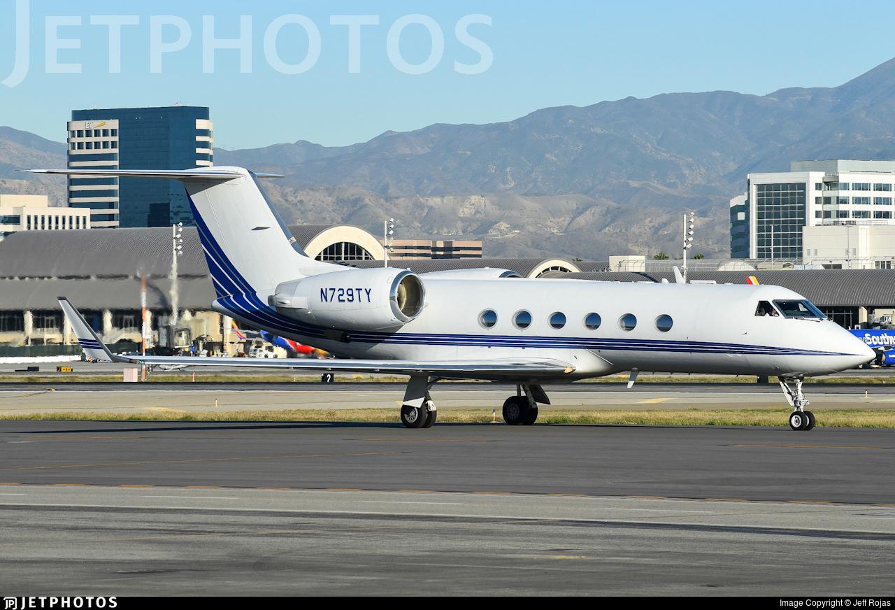 N729TY - Gulfstream G-IV - Private