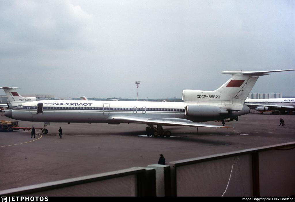 CCCP-85623 - Tupolev Tu-154M - Aeroflot