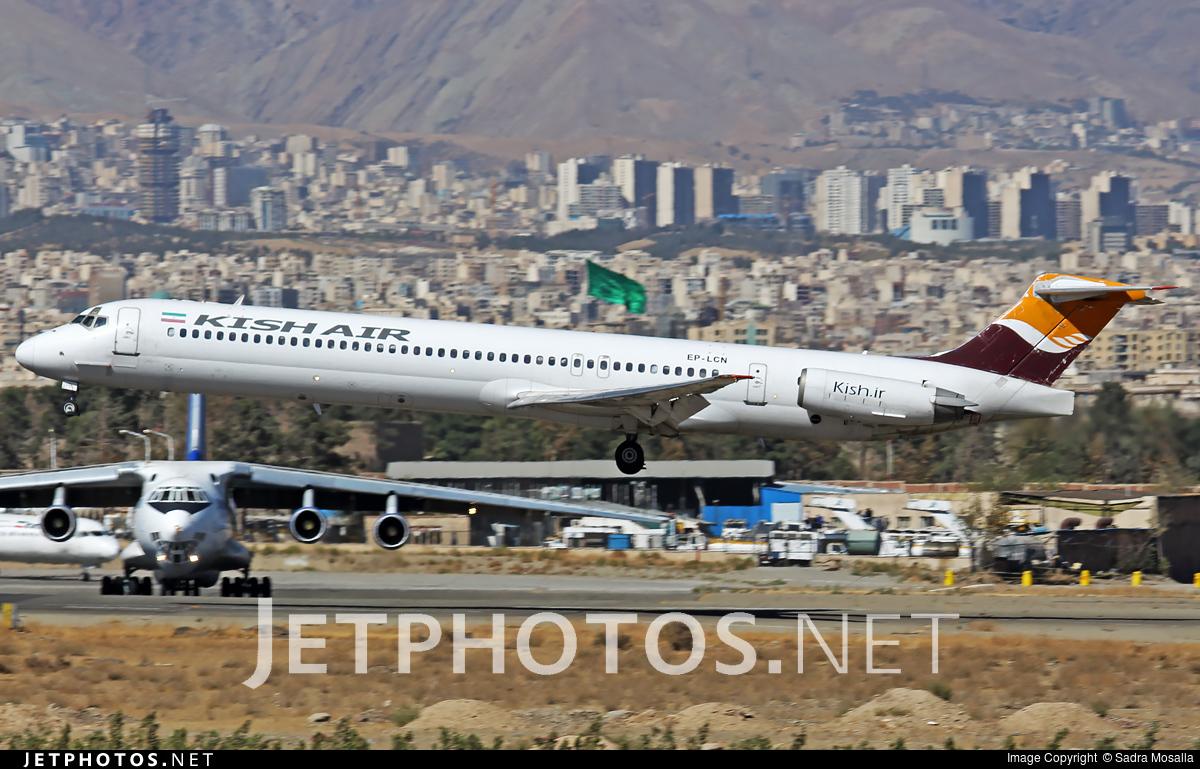 EP-LCN - McDonnell Douglas MD-83 - Kish Air